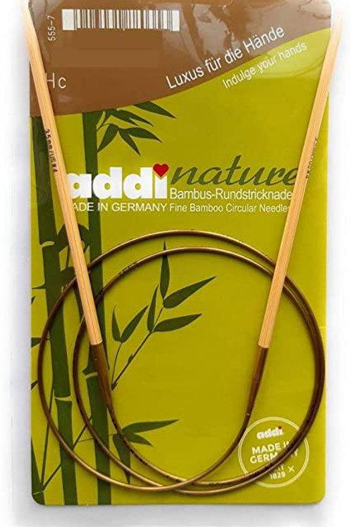 Круговые спицы из бамбука Addi Nature