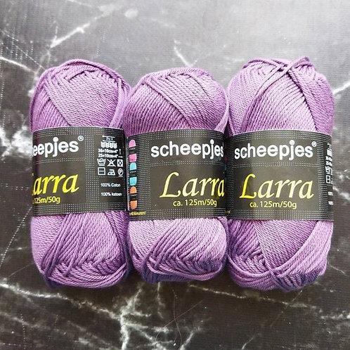 Набор голландской пряжи Scheepjes Larra Cotton - 3 мотка
