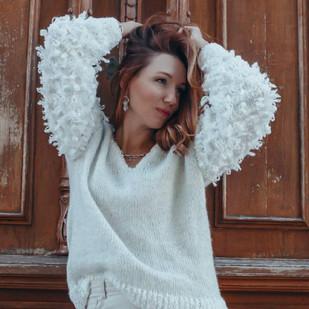 Шикарный пуловер «Бараш»