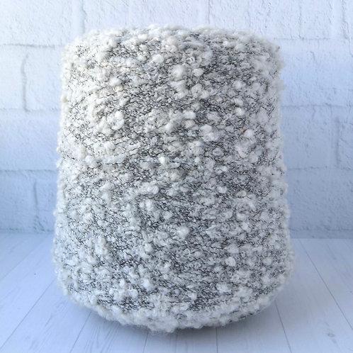 Mix boucle (2.4 руб/грамм) кремовая