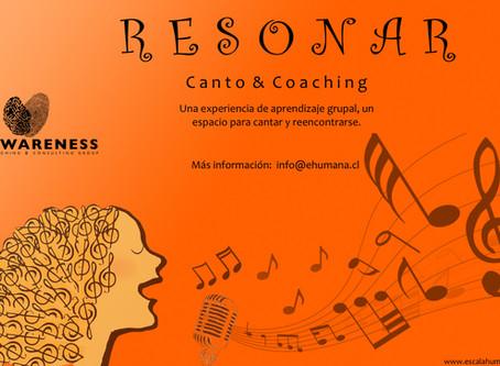 Ya viene Resonar -Canto y Coaching