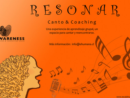 Ya viene Resonar -Canto y Coaching