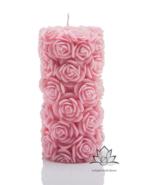 Enliven Large Pillar Candle