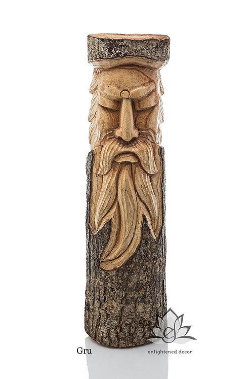 Spirit Wood Faces, Wall Hanging, 50cm L