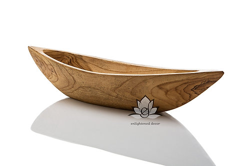Teak Boat