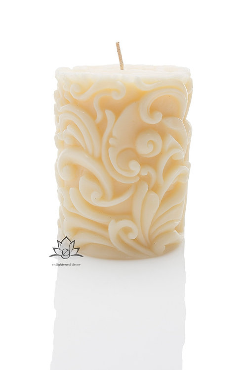 Highborn Small Pillar Candle