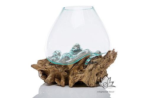Tear Drop, Glass on Root - Jumbo