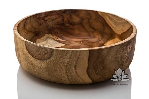 Teak Bowl, 30cm