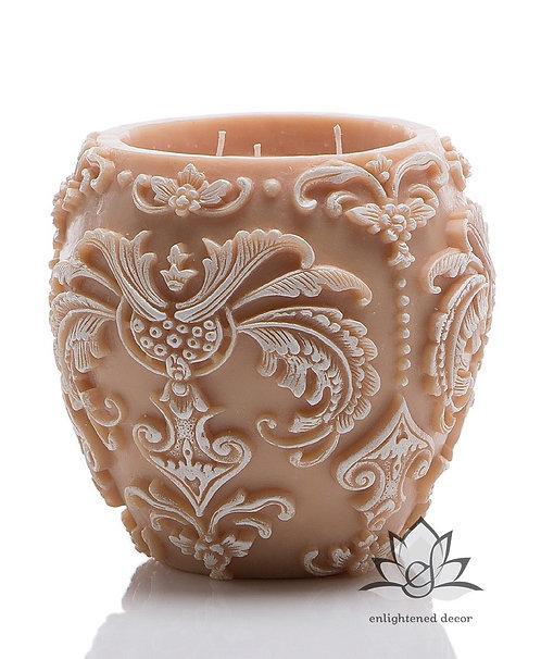Profound White Large Vase Candle