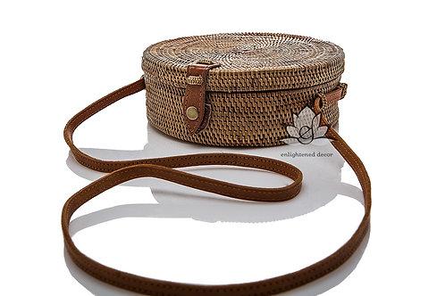 Grass Woven, Mandala Purse