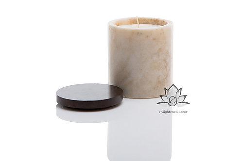 Ivory Onyx Candle, Medium