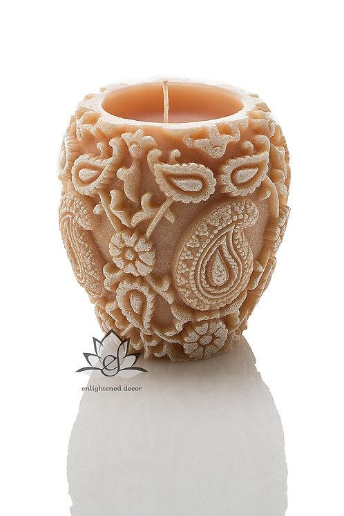 Trance White Vase Candle
