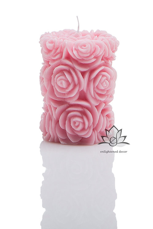 Enliven Small Pillar Candle