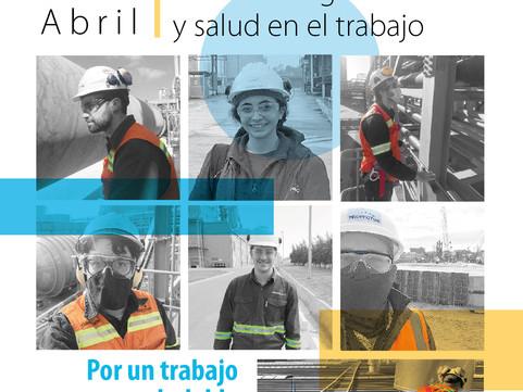 28 de abril. Día de la seguridad y salud en el trabajo