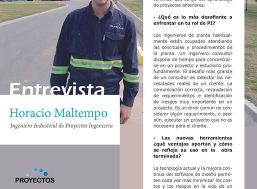 Lea la entrevista completa a Horacio Maltempo