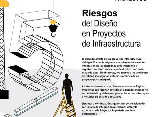 5 Riesgos del Diseño en Proyectos de Infraestructura