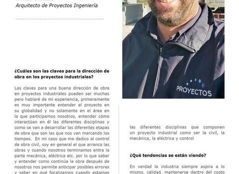 Entrevista a Renzo Stefani Arquitecto de Proyectos Ingeniería