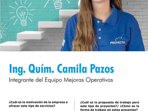 Mejoras Operativas, entrevista a Camila Pazos