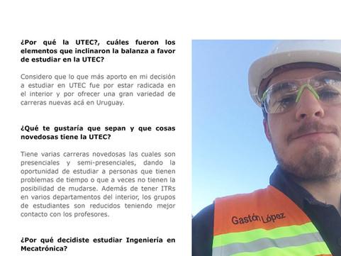 Entrevista a Gastón López