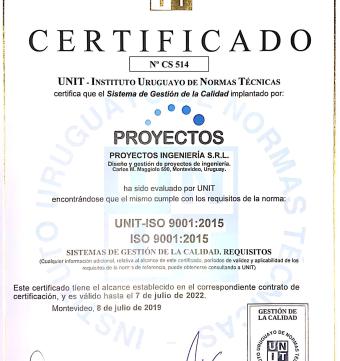 Hemos obtenido la Certificación ISO 9001:2015