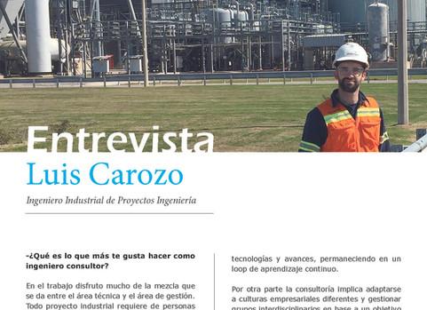 Entrevista a Luis Carozo