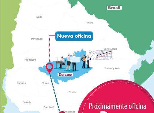 Nueva oficina en Durazno para estar cerca de los proyectos.