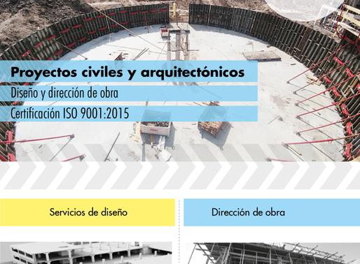 Proyectos civiles y arquitectónicos Diseño y dirección de obra