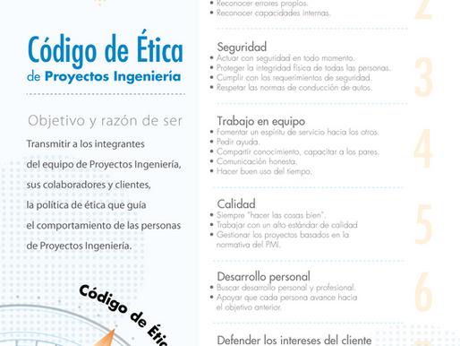 Código de Ética de Proyectos Ingeniería