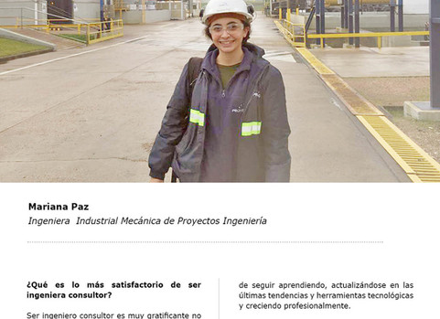 Entrevista a Mariana Paz de Proyectos Ingeniería
