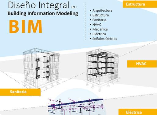 Diseño de las Ingenierías. Integradas. En BIM.