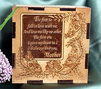 Mothers Box with Roses