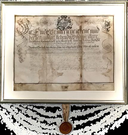 O600602 Johann Bernhards Lehrbrief sm.pn
