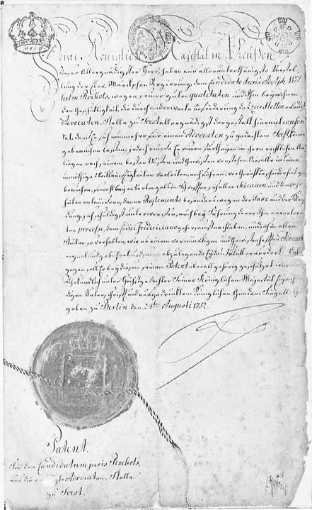 0600700_Adolphs_Patent_von_Friedrich_d._