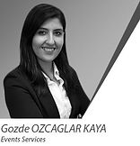 Mrs.Gozde OZCAGLAR KAYA_Events Services.