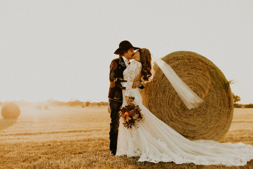 country wedding in texas