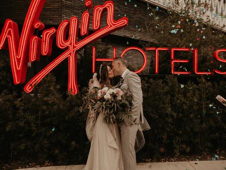 The Virgin Hotel Elopement