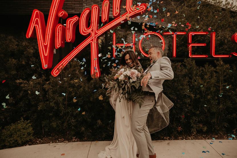 virgin hotel dallas elopement