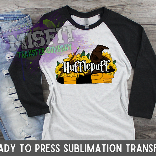 Hufflepuff - Harry Potter - Sublimation Transfer