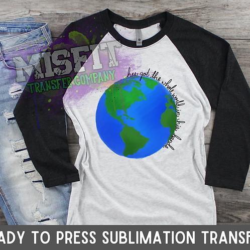 Christian World - Sublimation Transfe
