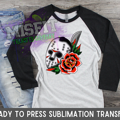 Jason Tattoo - Sublimation Transfer