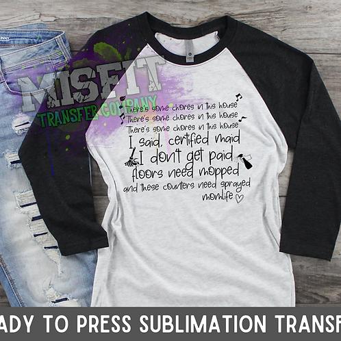 Mom WAP - Sublimation Transfer