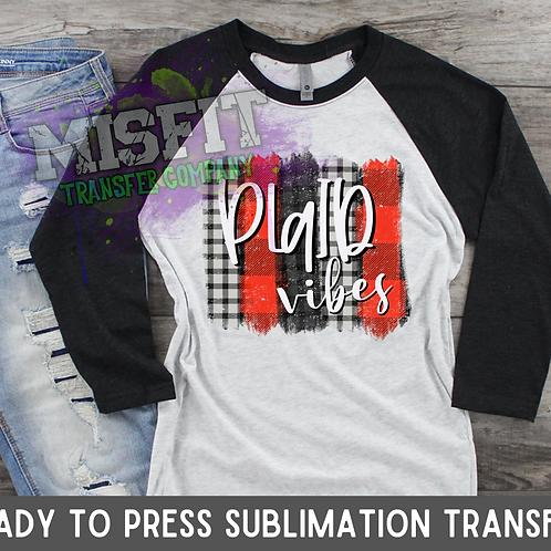 Plaid Vibes - Sublimation Transfer