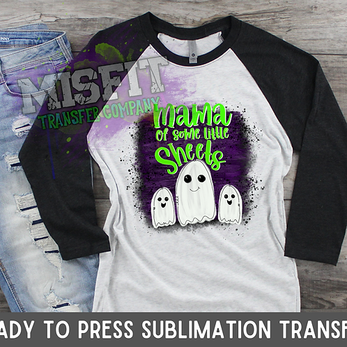Mama of Some Little Sheets - Sublimation Transfer
