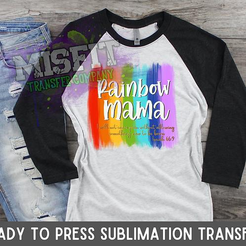 Rainbow Mama - Sublimation Transfer