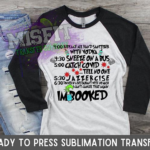 2020 Grinch - Sublimation Transfer