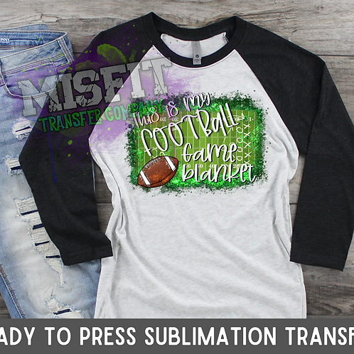 Football Blanket - Sublimation Transfer