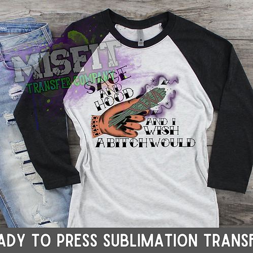 Sage & Hood 2 - Sublimation Transfer