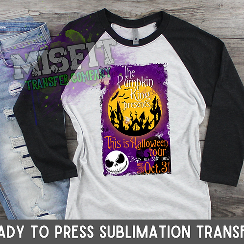 This is Halloween Poster - Sublimation Transfer