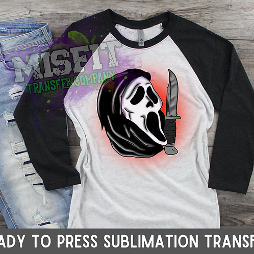 Tattoo Scream - Sublimation Transfer