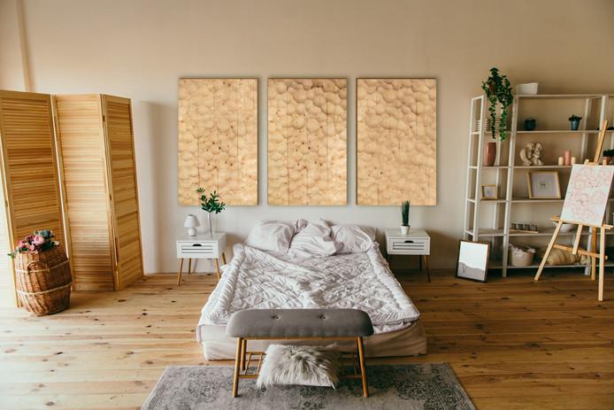 Triple Panel Bedroom